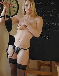Secretary in Lingerie Teacher Miss Elise