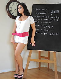 Secretary in Lingerie Teacher Miss Keira