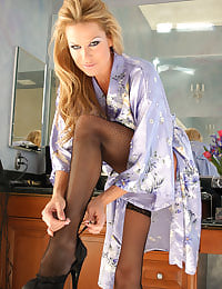 Kelly Madison Getting Ready