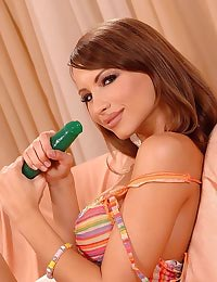 Cindy and her rubber dildo