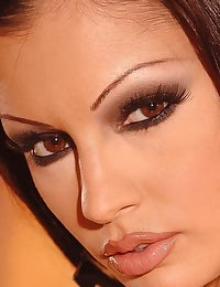 Aria Giovanni gets naked