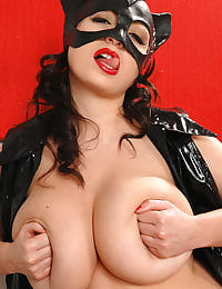 Big tits Michelle as catwoman