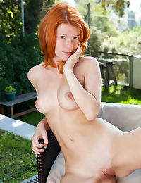 Mia Sollis in Soutenir Nude Photography by Koenart