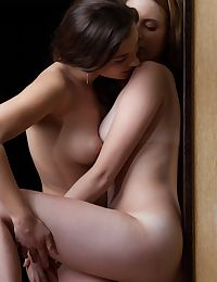 Francine A, Gillian A in Pares Nude Photography by Rylsky