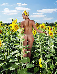 Adele B in Tournesol Nude Photography by Tony Murano