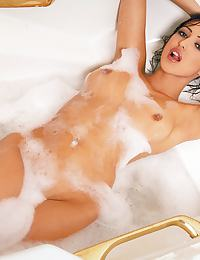 Breanne Benson in loves to soak in warm water