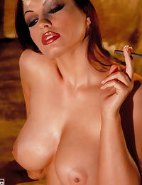 Aria Giovanni in explicite nude photo and erotic photos