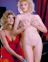 Glamour Nude Centerfold Alicyn Sterling and Cindii