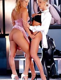 Glamour Nude Centerfold Lydia Schone and Jenteal