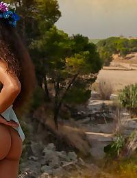 Nude A Crazy Hot Maenad In Mediterranean Landscape