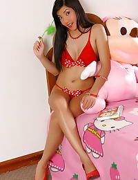 Asian vanessa tang 04 red high heels