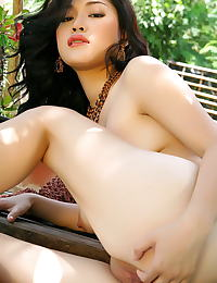 Asian ma yu jie 07 natural hanging tits forest