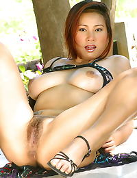 Asian nancy ho tits 24 big naturals hairy pussy