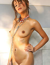Asian teresa chao 06 chained water play