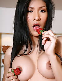 Asian chen pai ling 01 asian pussy strawberry fruit