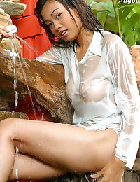 Asian angoon 06 shower wet shirt