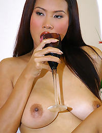 Asian nancy ho tits 01 banana food play