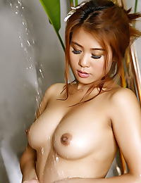 Asian daisy cole 02 bikini shower
