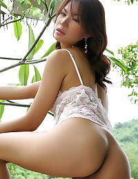 Asian vanessa ma 16 forest lingerie