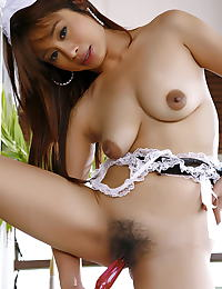 Asian catty sung 01 french maid dark areolas