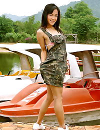 Asian carrie lee 01 army upskirt boat rental