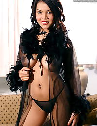Asian cindy 14 lingerie bigtit dildo