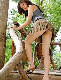 Asian naris lanine 01 hairy labia forest