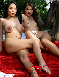 Asian girl girl annie cherry 01 classic dress areolas