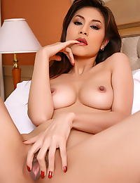 Asian natalie wang 09 see through lingerie hard nips