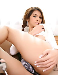 Asian natalia chai 03 glass dildo perfect babe