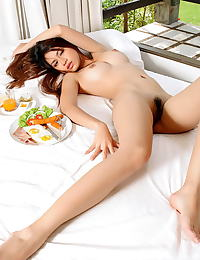 Asian amelia luv 18 innocent food play
