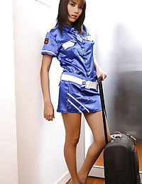 Asian monica chow 14 stewardess