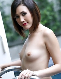 Unclothed Siamese Amazing Female Areeya Oki