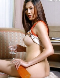Topless Japanese Pretty Adulteress Molly Lee