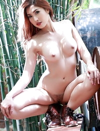 Unclothed Thai Sizzling Hottie Myra