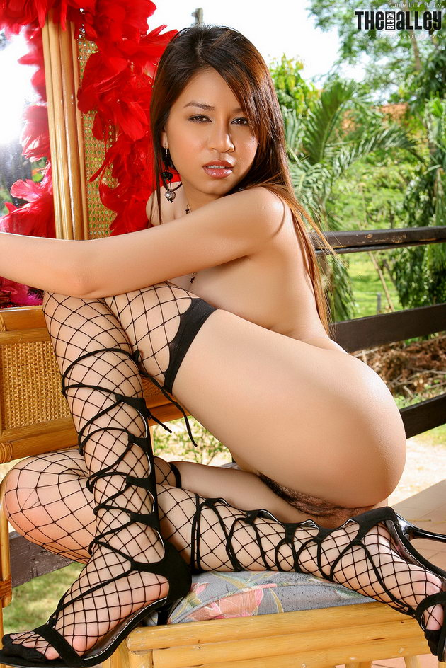 Fishnet nude asian picture apologise