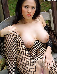 The Black Alley presents: Erotic asian beauty annie chui 09 forest